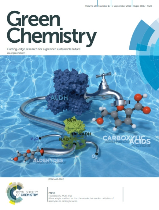 Sustainable and very selective biocatalytic conversion of