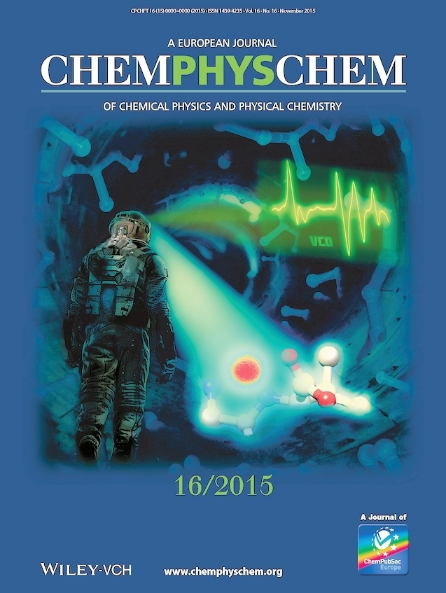 Cover ChemPhysChem Molecular Photonics VCD research
